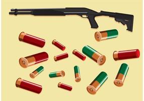 Hagelgevärskalver vektorer