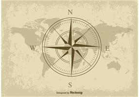 Nautische Karte vektor