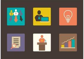 Unternehmen Icons
