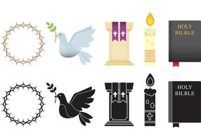 Religiöse Gegenstände vektor