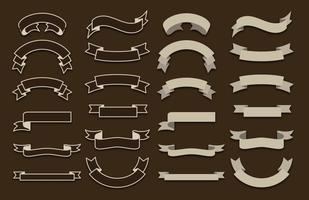 Vektor-Bänder vektor