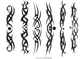 Hawaiian stam vektorer packa