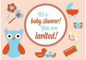 Baby-Dusche Vektor-Elemente