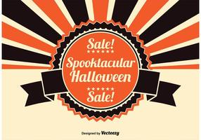 Halloween Försäljning Illustration vektor