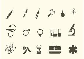 Vektor medizinische Icons