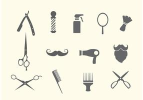 Friseursalon und Salon Vektoren