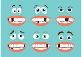 Lustige Gesichts-Vektoren
