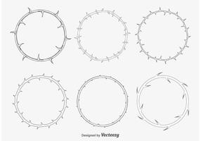 Dornrahmen vektor