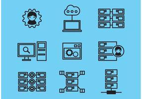 Datenbank-Icons