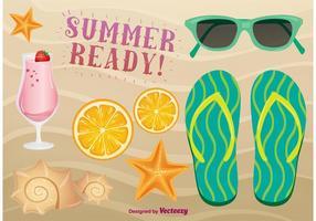 Sommerzeit Icons