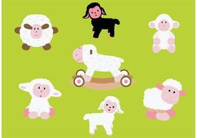 Schaf isoliert