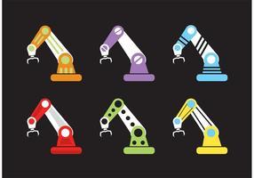Vektor Roboter Arme