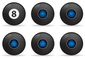 Magic 8 Ball Vektoren