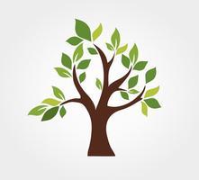 Stiliserade vektor träd