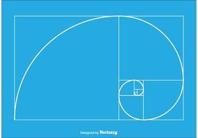 Guldförhållande vektor