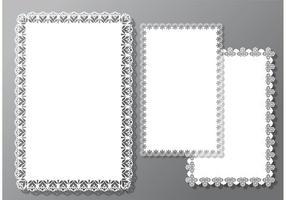 Square Doily Vectors