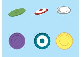 Free vector frisbee