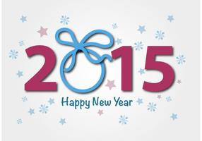 Vector 2015 Happy New Year Feiern