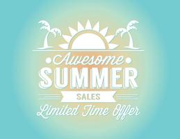 Sommer Verkauf Illustration