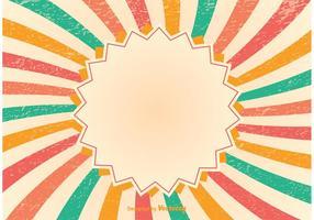 Grunge Sunburst Hintergrund vektor