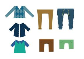 Freie Vektor Kleidung