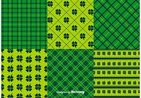 St Patrick's Day Pattern Vectors