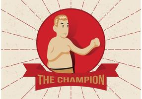 Gamla Time Boxing Vector Man
