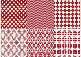 Weihnachten Vektor Muster Hintergründe