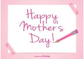 Muttertag Illustration vektor