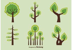 Abstrakte und geometrische Vektor Bäume