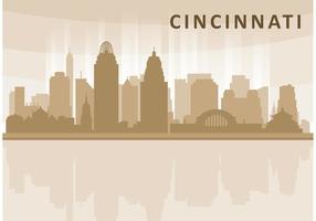 Cincinnati Skyline Vektor