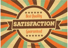 Zufriedenheit Garantierte Illustration vektor