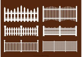 Vit Picket Fence Vectors