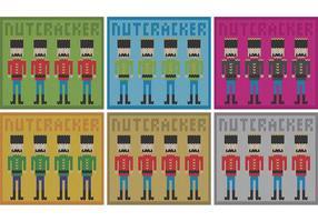 Vector Nussknacker Textil
