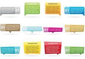 Textfeld Vektoren