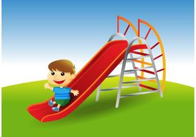 Spielplatz Slide Vector