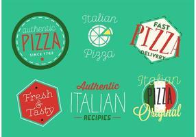 Italienische Abzeichen vektor