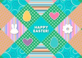 Fröhliche Ostern Texturen & Grafiken vektor