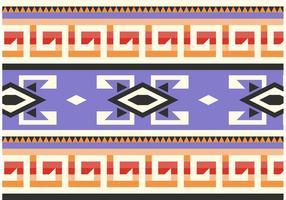 Lila indiansk mönster vektor
