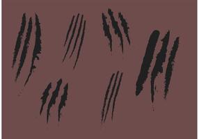 Rip Marks von Claws Vectors