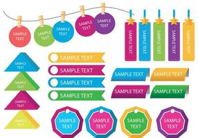 Textfeld Vorlage Vektoren
