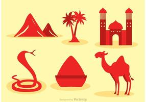 Marokko Vector Icons