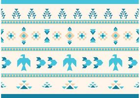Native American Vector Pattern Eagles und Gans