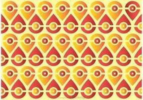 Nahtlose Pfau Schwanz Muster Vektor