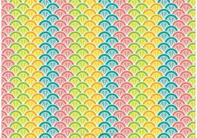 Färgglada Påfågelmönster vektor
