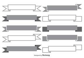 Banner Form Set vektor