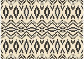Native American Vector Pattern med mosaik