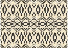 Native American Vector Pattern mit Mosaiken