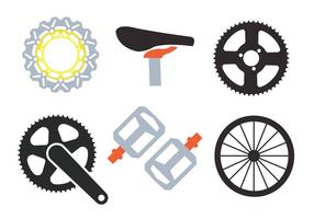 Bike Sprockets vektorer