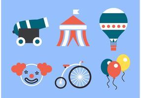 Big Top Zirkus Vektor Pack